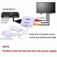 Konverter HDMI To RCA ( AV ) Adapter