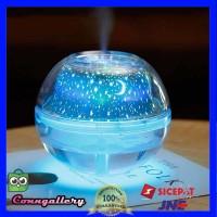 Humidifier LED Night Projection Lamp 500ml Diffuser Aroma Terapi