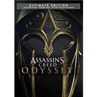 ASSASSINS CREED ODYSSEY ULTIMATE EDITION WITH ALL DLC PC ORIGINAL