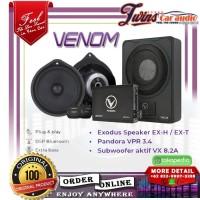 PAKET AUDIO MOBIL Venom Pandora + Sub Aktive + Speaker PnP OEM