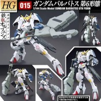 Bandai HG 1/144 Gundam Barbatos 6th form bisa jd 1st,4th,5th juga