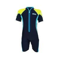 Arena Childrens Sunsuit NB AUV-20311 Baju Renang Jumpsuit Anak Biru