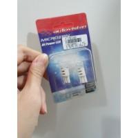 Autovision Microzen LED T10 Spesial Lens Putih Lampu Senja Motor Mobil