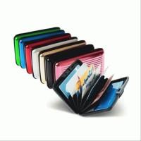 Dompet Kartu Aluminium / Card Organizer / Tempat Kartu / Ca