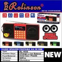 SPEAKER AUDIO PORTABLE USB MEMORY ROLINSON RL-4028 DOUBLE SPEAKER