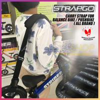 STRAPGO STRAP for Balance Bike / Push Bike STRIDER LONDON TAXI MAYNINE