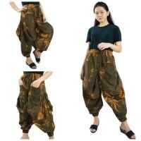 Celana Batik Joviena Long Pants Aladin Jogger Wanita