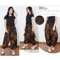 Celana Batik Jelira Long Pants Aladin Jogger Wanita