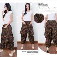 Celana Batik Jhesa Long Pants Aladin Jogger Wanita