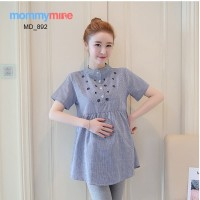 Mommymine Baju / Atasan Hamil Menyusui Import (MD_892)