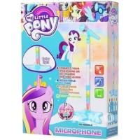 Mainan Karaoke Anak Perempuan Microphone Little Pony Mic 1 Tiang Lampu