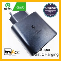 CHARGER SAMSUNG S20 TYPE C 45W SUPER FAST CHARGING ORIGINAL