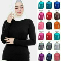 Baju Manset wanita Kaos jersey fit to jumbo XL BAHAN ADEM