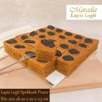 Kue Lapis Marcella Lapis Legit Spekkoek Premium Prune Sz 20x20x2,5cm