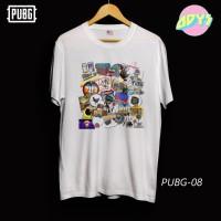 Kaos Game Pubg - Putih - Original New States Apparel