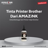Tinta AMAZiNK for Brother 100 ml Black