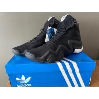 Sepatu Basket Adidas Crazy 8 Kobe Bryant Black and White Original