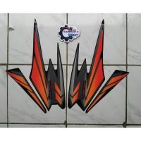 Stiker Striping Motor Yamaha Rx King 2002 Merah