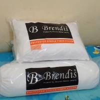 Bantal Guling Brendis Premium Silicon ( 2 Bantal + 2 Guling )