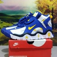 sepatu Nike Air Barrage blue yellow