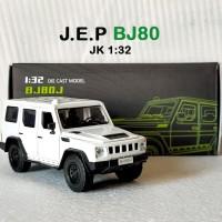Diecast Mobil Jeep J.E.P BJ80 skala 1:32 offroad pajangan koleksi