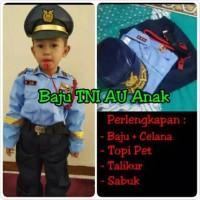 Baju TNI AU anak / seragam anak / kostum profesi anak
