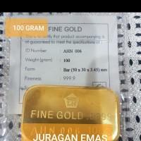 100 GR ( GRAM ) LOGAM MULIA / LM ANTAM LANDSCAPE MODEL LAMA