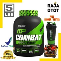 MP Combat 100% Whey 5 Lbs Muscle Pharm Combat 100% Whey Protein BPOM