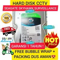 HDD CCTV 3TB HARD DISK 3 TB SEAGATE Skyhawk Garansi 1 Tahun HDD 3TB