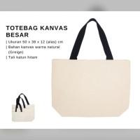 Tote Bag Kanvas Tas Belanja Baggu Bag - BESAR