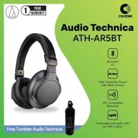 Audio Technica ATH-AR5BT BK Bluetooth Wireless Hi Res Headphones -