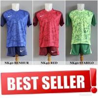 Setelan Futsal Bola Sepakbola Nike NK40 (Baju Kaos Jersey Celana)