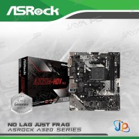 Motherboard ASROCK A320M-HDV (AM4, AMD, A320M, DDR4, USB3.1, SATA3)