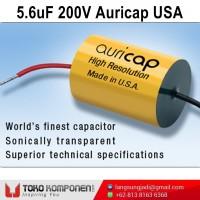 5.6uF 200V Auricap Metalized Polypropylene Capacitor MKP 5,6uF