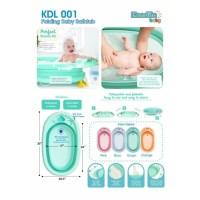 Kandila baby folding bath tub/bak mandi bayi