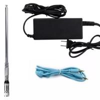 Aksesoris Pemancar FM CZE-7C ST-7C Power supply 12V antenna kabel aux