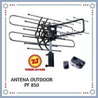 Antenna Antena Tv outdoor dengan remote dan booster + kabel PF 850