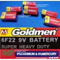Battery kotak baterai 9V goldmen battery 9 v Volt batre Multitester