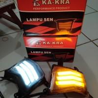 Lampu sen Led Nmax model JPA - Biru