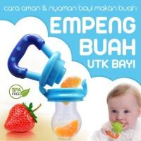 EMPENG SILIKON DOT BUAH BAYI - baby fruit & food feeder silicon lembut
