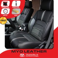 Sarung Jok Mobil Fortuner Otomotifku Bahan Myo Leather Termurah ORI