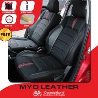 Sarung Jok Mobil Agya Otomotifku Bahan Myo Leather Termurah Terbaik