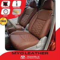 Sarung Jok Mobil Calya Otomotifku Bahan Myo Leather Berkualitas ORI