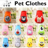 Baju Anjing Baju Kucing Baju Binatang Kaos Anjing Poodle Lucu Murah