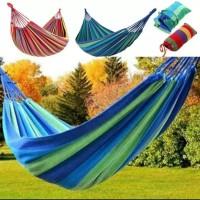 HAMMOCK AYUNAN GANTUNG - Tempat Tidur Gantung Camping Outdoor Pelangi