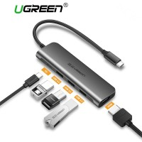 UGREEN USB Hub 3 Port USB Type C with HDMI, Dongle Macbook, Laptop dll
