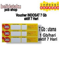 Voucher Paket Data INDOSAT FREEDOM 7GB - 7 HARI