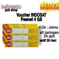 Voucher Paket Data INDOSAT FREEDOM INTERNET 4 GB