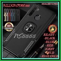OPPO REALME 5 PRO HARD CASE RING THUNDER HARDCASE SOFT BUMPER MAGNETIC