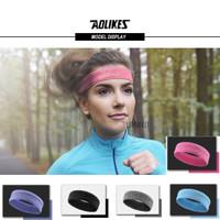 AOLIKES ANTI SLIP Headband Bandana Olahraga Bola Basket Gym Fitness